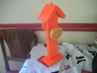 Oriole feeder I made