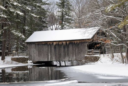 Covered Bridge, Sturbridge, MA