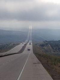 Highway to Heaven, taken on I-80 near Fort Bridger, Wyoming.