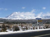 Mt Ngauruhoe from the Desert Road.