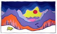 7 Painting by Ted Harrison