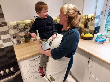 Fun in the kitchen with Piggly