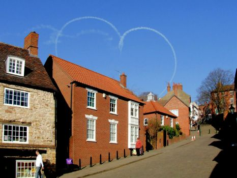 Steep Hill, Lincoln - for Valentine's Day