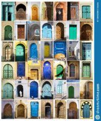 North African doors