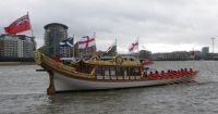 The Queen's new barge