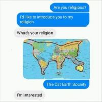 Cat Earth Soceity.