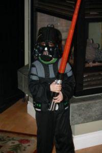 Grandson's favorite costume