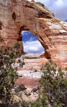 White Mesa Arch Arizona