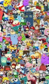 famous cartoon faces