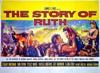 THE STORY OF RUTH - 1960 POSTER  STUART WHITMAN, ELANA EDEN, TOM TRYON, PEGGY WOOD
