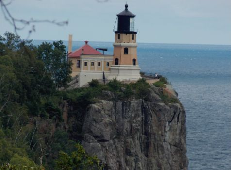 Split Rock Lighthouse and Lake Superior