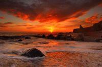 sea_waves_rocks_beach_sunrise
