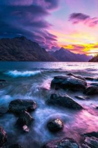 Lake Wakatipu ,New Zealand.  6093
