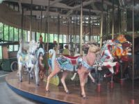Merry-go-round at Golden Gate Park, California