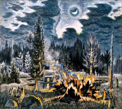 Pioneer Evening by Charles Burchfield