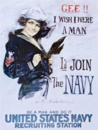 Well, there are some men in the Navy. . . . . never mind.