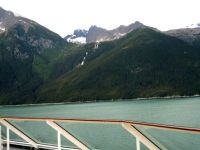 Inside Passage leaving Skagway, Alaska