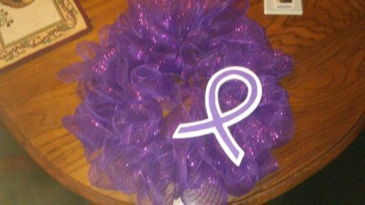 WREATH FOR SUPPORTING LUPUS RESEARCH