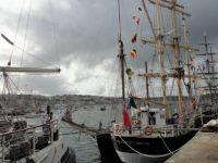 Tall Ships in Falmouth docks 2014