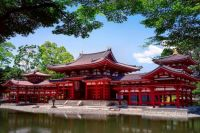 Byodoin, the Heian Period Amida Buddha temple