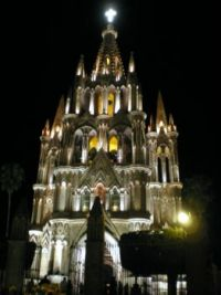 Night San Miguel de Allende