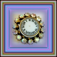 THEME - Clocks - Clock Brooches from Rocks to Riches