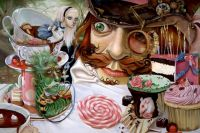 Tea Party by Leslie Ditto