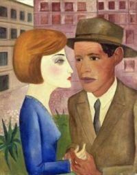 Encontro, 1924 - Lasar Segall -