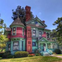 Queen Anne style Victorian in Los Angeles