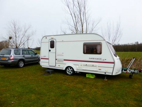 My caravan... the first time I used it, april 2015