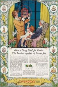 Themes Vintage ads - Hendryx Bird Cages