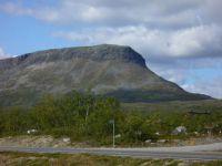 Saana mountain in Lapland