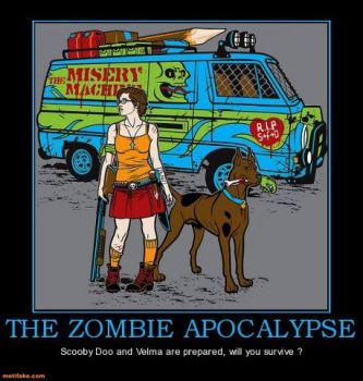 The Walking Dead/Scooby Doo