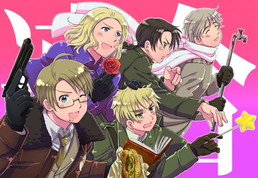 Hetalia axis powers the allies 216 pieces jigsaw puzzle hetalia axis powers the allies publicscrutiny Images