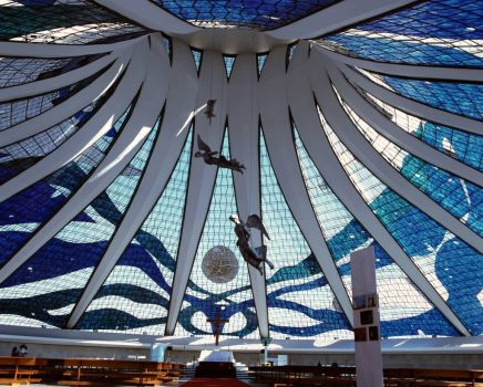 Oscar Niemeyer - 1907-2012 - Cathedral 3