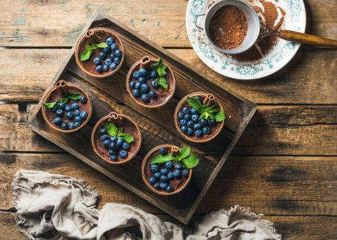 Blueberry Cinnamon Cups
