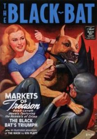 Black Bat (1931) The inspiration of Batman and the first bat man from the comics