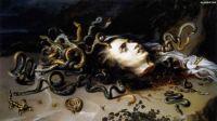 Rubens - Head of Medusa (1618)