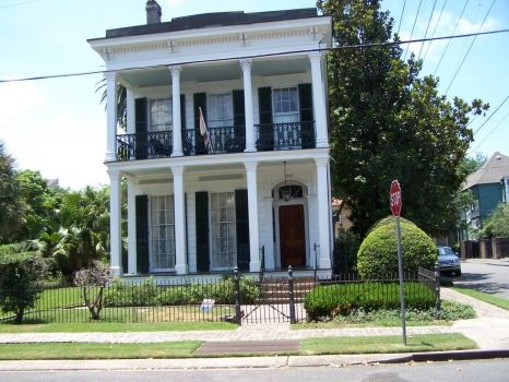 House in Garden District of New Orleans