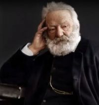 Victor Hugo, a French Poet, Novelist and dramatist of the Romantic movement, 1883