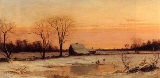 Winter Landscape by Alfred Thompson Bricher