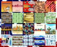 USA Top Pop. Cities Collage Challenge