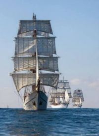 Tall ships coming though Cape Cod in a few days