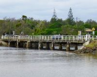 Old bridge at Brunswick Heads