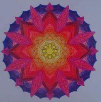 sunset mandala (medium)