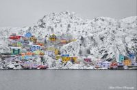 The Old Battery, Newfoundland Canada after a snowfall