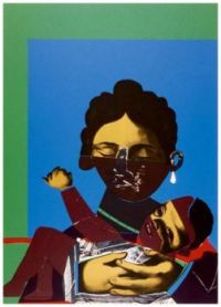 Mother and Child (collage, 1971) ~ Romare Bearden