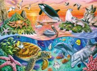 Beautiful Ocean Life   --smaller