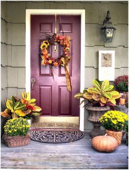 Autumn Entryway