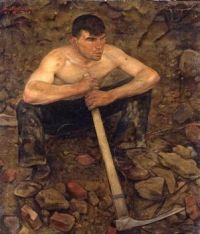 Georg Siebert (German, 1896–1984), The Worker (1931)